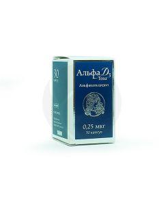 Alpha D3-Teva capsules 0.25mkg, No. 30 | Buy Online