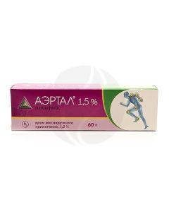 Aertal cream 1.5%, 60 g   Buy Online