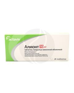 Almont tablets 10mg, No. 28 | Buy Online