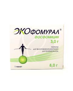 Ekofomural granules for the preparation of oral solution 3g, no. 1 pack . | Buy Online