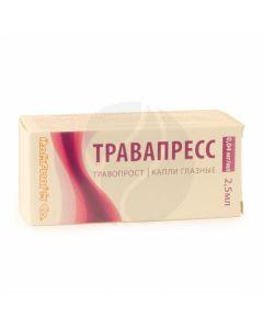 Travapress drops 40mkg / ml, 2.5 ml | Buy Online
