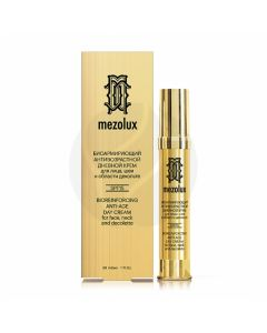Librederm Mesolux Bio-reinforcing anti-aging day face cream SPF15, 30ml   Buy Online