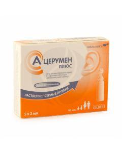 A-cerumen plus drops 2ml, no. 5 | Buy Online