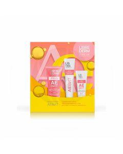 Librederm Vitamins Aevit gift set (Face mask + Hand cream + Soft gel for washing), 75ml + 125ml + 150ml | Buy Online