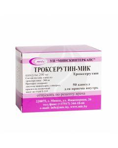 Troxerutin - MIC capsules 200mg, No. 50 | Buy Online