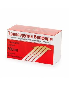 Troxerutin capsules 300mg, No. 60 | Buy Online