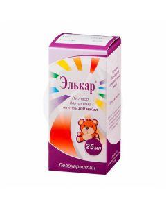 Elkar oral solution 30%, 25ml dropper bottle   Buy Online