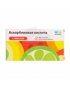 Ascorbic acid with glucose tablets, No. 40 Reneval   Buy Online