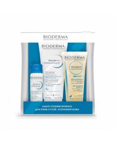 Bioderma Atoderm gift set Intensive balm + Shower oil + Sos spray, 200ml + 100ml + 50ml | Buy Online