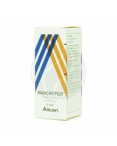 Maxitrol eye drops, 5 ml | Buy Online