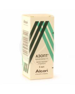 Azopt eye drops 1%, 5 ml | Buy Online