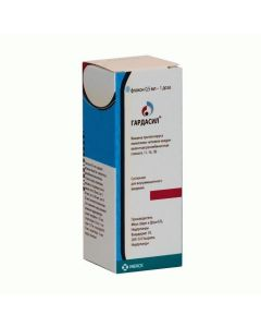 Buy cheap vaccine against the virus papyllom man kvadryvalentnaya, recombinant (types 6, 11, 16, 18) | Gardasil suspension for v / m administration. 0.5 ml / dose 0.5 ml (1 dose) vial 1 pc. online www.buy-pharm.com