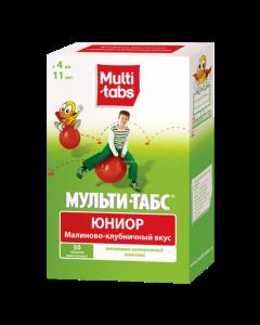 Buy cheap Polyvytamyn | Multi-Tabs Junior chewable tablets raspberry-strawberry 30 pcs. online www.buy-pharm.com