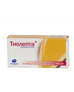 Buy cheap Tyoktovaya acid | Tialept tablets are covered.pl.ob. 600 mg 60 pcs. online www.buy-pharm.com