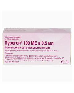 Buy cheap Follytropyn beta | Puregon solution for in / m and p / kozh. introducing 100 IU 0.5 ml vials of 5 pcs. online www.buy-pharm.com