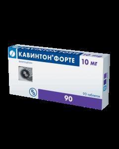 Buy cheap Vinpocetine | Cavinton Forte tablets 10 mg, 90 pcs. online www.buy-pharm.com