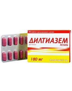 Buy cheap diltiazem | Diltiazem retard capsules prolong. d 180 mg 30 pcs. online www.buy-pharm.com