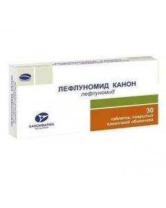 Buy cheap Leflunomyd | Leflunomide Canon tablets coated.pl.ob. 20 mg 30 pcs. online www.buy-pharm.com