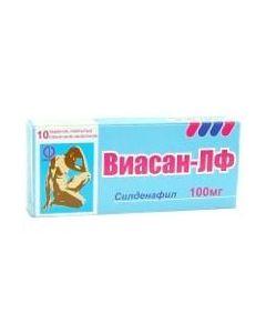Buy cheap Sildenafil | Viasan-LF tablets are covered.pl.ob. 100 mg 10 pcs. online www.buy-pharm.com