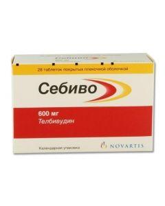Buy cheap Telbyvudyn | Sebivo tablets 600 mg, 28 pcs. online www.buy-pharm.com