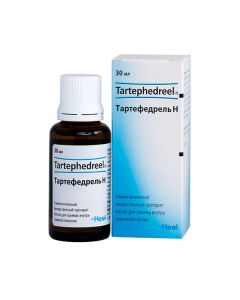 Buy cheap Homeopatycheskyy composition | Tartefedrel drops for oral administration, 30 ml online www.buy-pharm.com