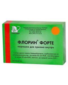 Buy cheap bifidobacteria bifidum, Lactobacilli plantarum   Florin forte sachets 850 mg 30 pc. online www.buy-pharm.com