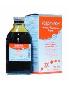 Buy cheap Potassium iodide   Iodopyrone solution for external use 1% bottle 450 ml online www.buy-pharm.com