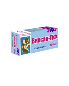 Buy cheap Sildenafil | Viasan-LF tablets are covered.pl.ob. 100 mg 2 pcs. online www.buy-pharm.com