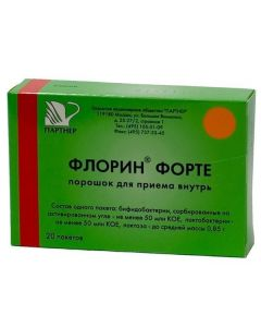 Buy cheap bifidobacteria bifidum, Lactobacilli plantarum   Florin forte sachets 850 mg 20 pcs. online www.buy-pharm.com