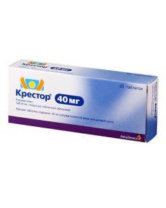 Buy cheap rosuvastatin | Krestor tablets are covered.pl.ob. 40 mg 28 pcs. online www.buy-pharm.com