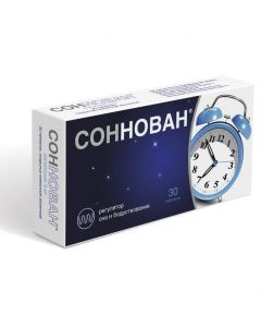 Buy cheap melatonin | Sonnovan tablets coated. 3 mg 30 pcs. online www.buy-pharm.com