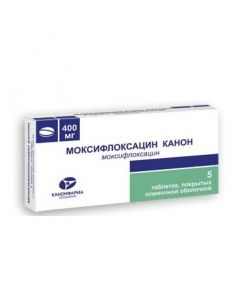 Buy cheap Moxifloxacin | Moxifloxacin Canon tablets coated.pl.ob. 400 mg 5 pcs. online www.buy-pharm.com