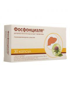Buy cheap pyatnystoy ekstrakt fruit, milk thistle Fosfolypyd | Phosphonical capsules 30 pcs. online www.buy-pharm.com