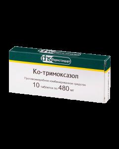 Buy cheap Co-trimoxazole sulfamethoxazole, trimethoprim   Co-trimoxazole tablets, 480 mg, 10 pcs. pack online www.buy-pharm.com