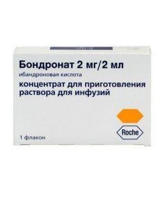 Buy cheap Ybandronovaya acid   Bondronate ampoules 2 mg, 2 ml, 1 pc. online www.buy-pharm.com