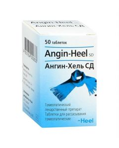 Buy cheap homeopathic composition | Angin-Hel SD tablets, 50 pcs. online www.buy-pharm.com