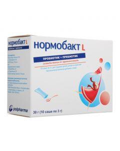 Buy cheap Lactobacilli acidophilus, Bifidobacteria BB12 | Normobakt L powder 3 g, 10 pcs. online www.buy-pharm.com