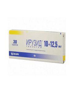 Buy cheap lisinopril, Hydrohlorotyazyd | Iruzide tablets 10 mg + 12.5 mg, 30 pcs. online www.buy-pharm.com