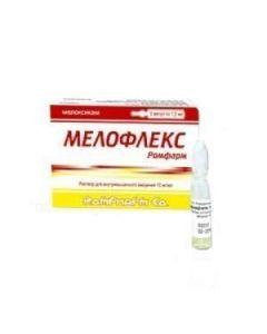 Buy cheap meloxicam   Melofleks Romfarm solution for in / mouse. enter 10 mg / ml 1.5 ml ampoules 5 pcs. online www.buy-pharm.com