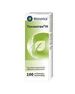 Buy cheap Althea Corr., Camomile flowers, Horsetail tr., Greek. walnut leaf, Yarrow tr., Oak Cor., Dandelion tr. | Tonsilgon H drops, 100 ml online www.buy-pharm.com