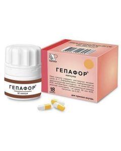 Buy cheap ekstr.suhoy milk thistle, bifidobacteria bifidum , lactobacillus enzyme | Hepaphor capsules , 18 pcs. online www.buy-pharm.com
