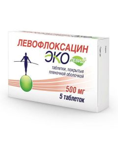 Buy cheap Levofloxacin | Levofloxacin Ekolevid tablets coated.pl.ob. 500 mg 5 pcs. online www.buy-pharm.com