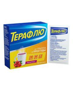 Buy cheap Paracetamol, Phenylephrine, Phenyr amine, Ascorbic acid   TeraFlu forest berries sachets 10 pcs. online www.buy-pharm.com