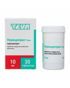 Buy cheap Perindopril | Perindopril-Teva tablets coated.pl.ob. 10 mg 30 pcs. pack online www.buy-pharm.com