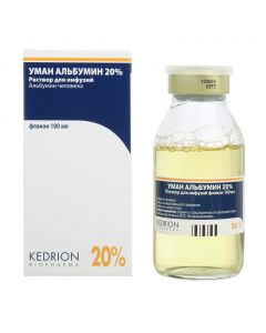 Buy cheap human albumin | Uman albumin solution for infusion 20% vials 100 ml online www.buy-pharm.com