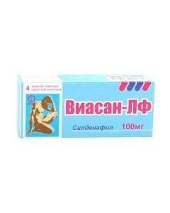 Buy cheap Sildenafil | Viasan-LF tablets are covered.pl.ob. 100 mg 4 pcs. online www.buy-pharm.com