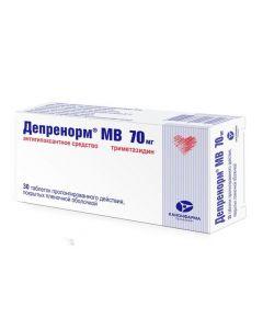 Buy cheap trimethazidine | Deprenorm MV tablets coated.pl.ob. prolong. 70 mg 30 pcs. online www.buy-pharm.com