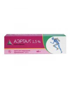 Buy cheap Aceclofenac | Aertal cream 1.5%, 60 g online www.buy-pharm.com