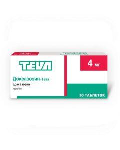 Buy cheap Doxazosin | Doxazosin-Teva tablets 4 mg 30 pcs. online www.buy-pharm.com