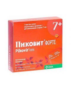 Buy cheap Multivitamins | Pikovit forte pastilles, 30 pcs. online www.buy-pharm.com